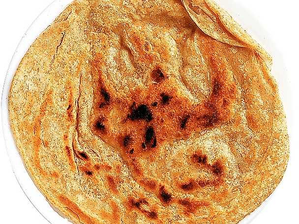 Ojäst indiskt bröd
