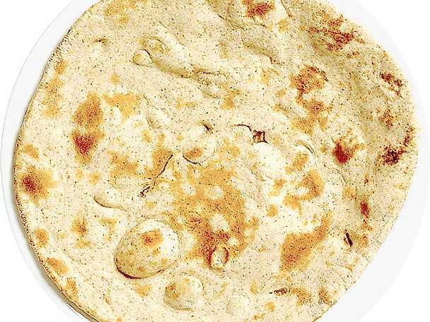 Ojäst indiskt fullkornsbröd