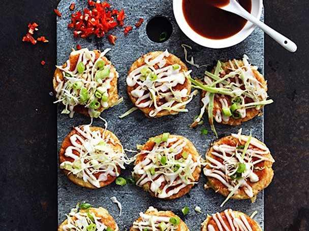 Okonomiyaki – japanska kålplättar