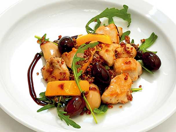 Olivpytt med quinoa