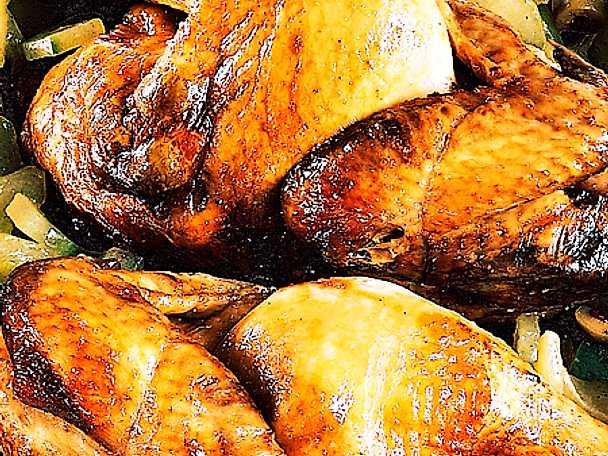 Olivspäckad kyckling