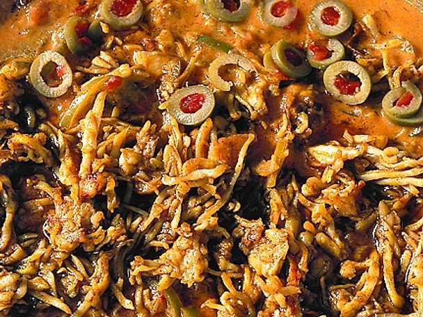 Orientalisk krabba