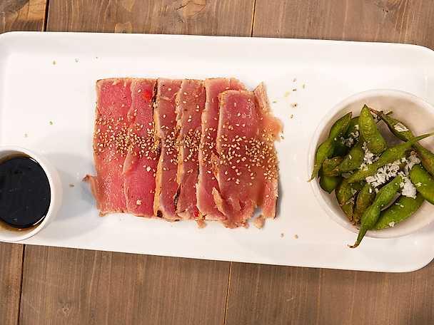 Oxfilé- och tonfisktataki