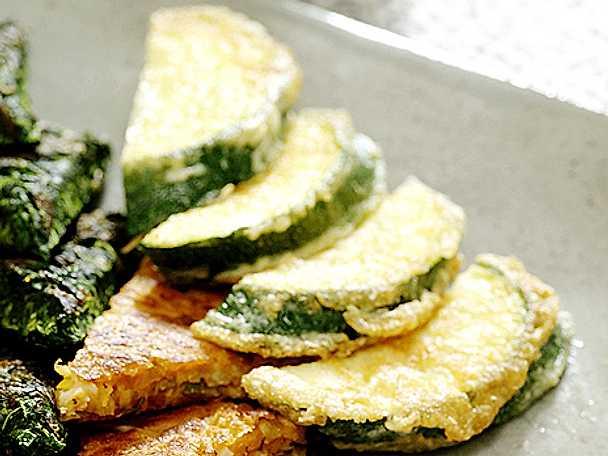 Panerad zucchini – Hobak chun
