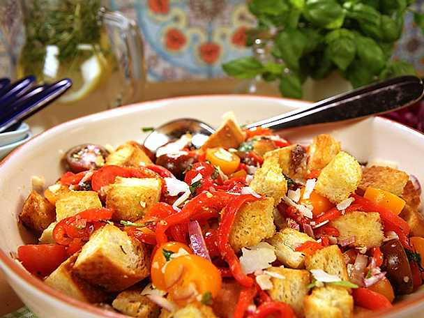 Panzanellasallad