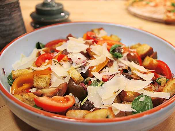 Paolos panzanellasallad