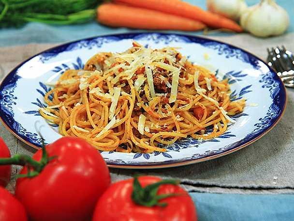 Paolos spaghetti bolognese