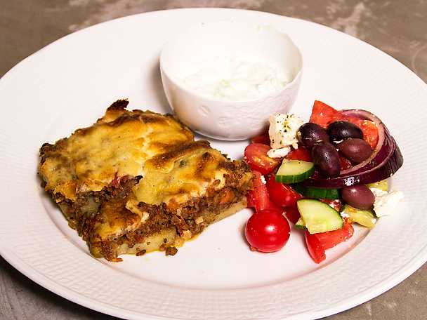 Paparizous moussaka
