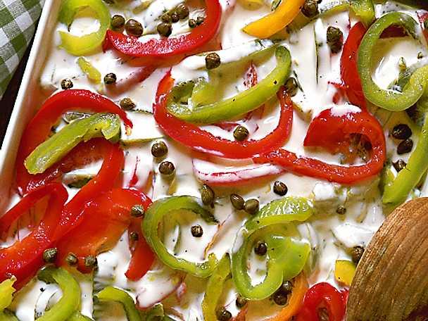 Paprika i majonnäs