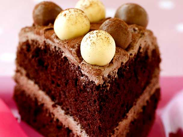 Påsktårta i choklad