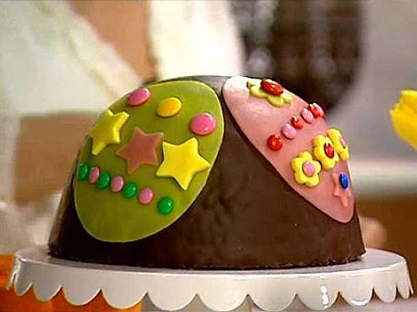 Påsktårta med tårtsmask