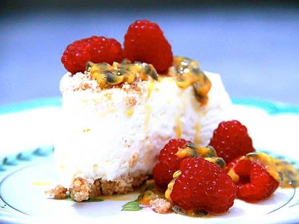 Passionerad cheesecake