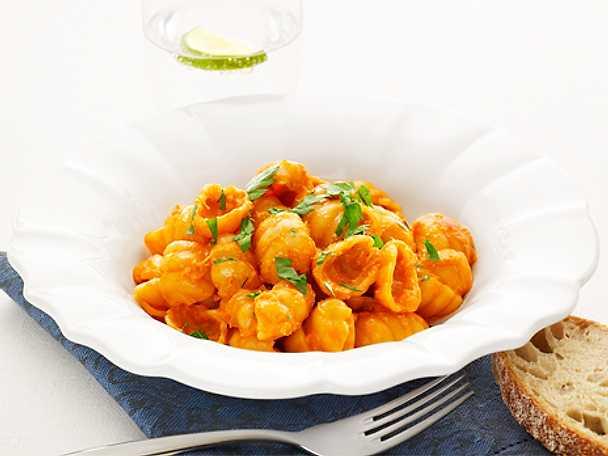 Pasta Gnocchi al Granchio - Gnocchi med krabba