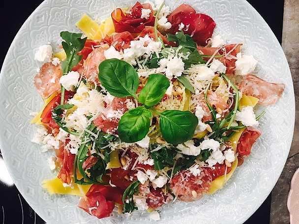 Pasta Italiano med extra allt