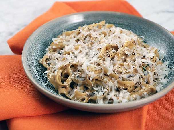 pasta svamp tryffel