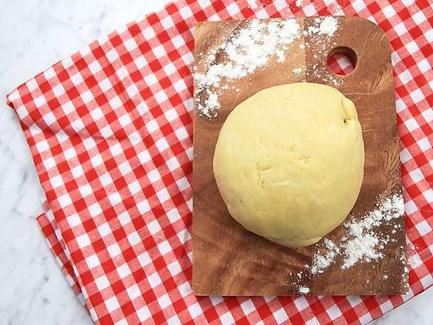 egen pasta recept