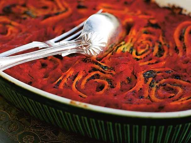 Pastarullar med ricotta och parmesan