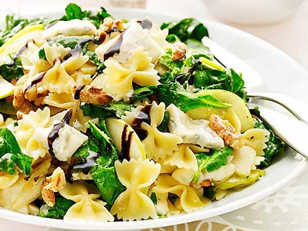 Pastasallad med gorgonzola