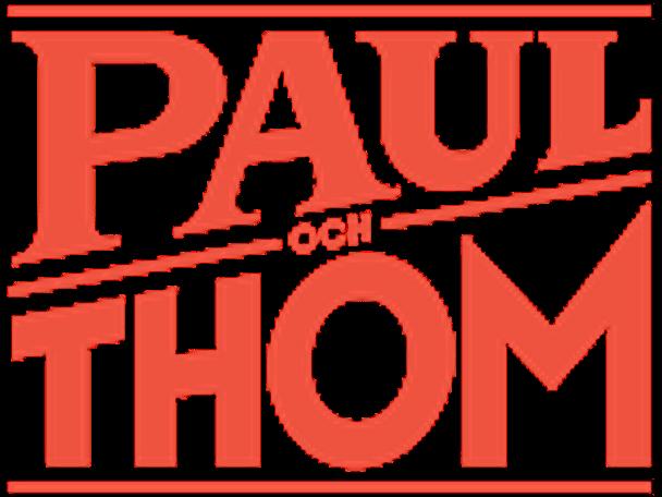 Paul och Thom logga