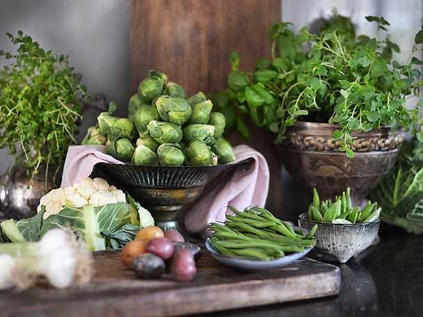 Pauls kurs grönsaker samlingsbild