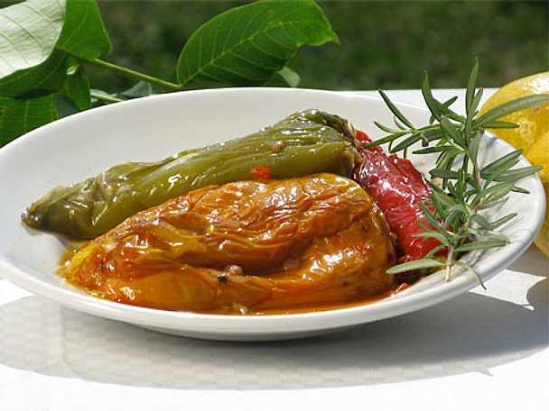 Peperoni ripieni - fylld paprika