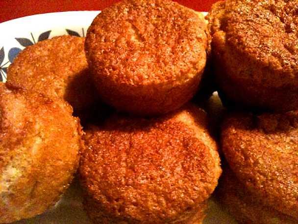 Pepparkaksmuffins, glutenfria