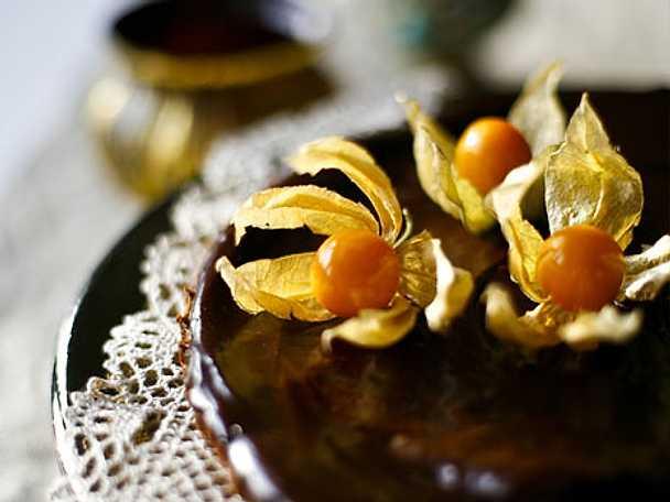 Pepparkakspaj med kanel och choklad