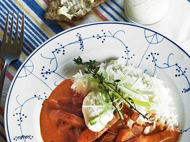 Matdags per morberg ar en inspirerande tv kock