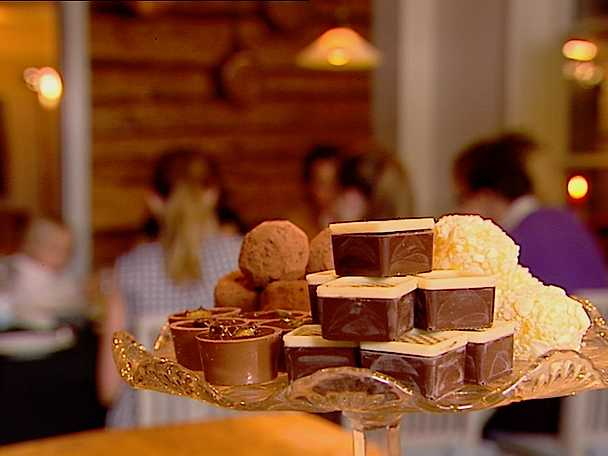 Pers chokladtryffelpralin