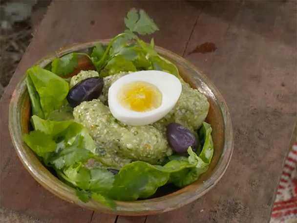 Peruansk potatissallad