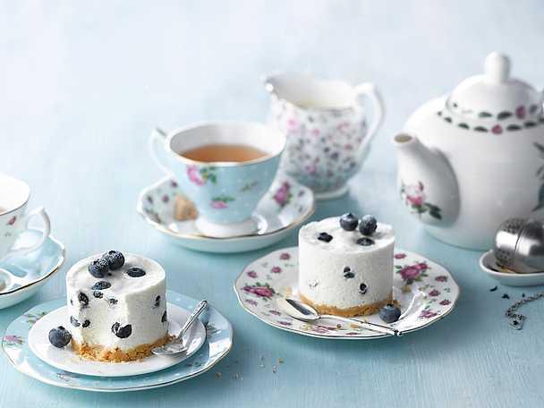 Philadelphia 15 Earl Grey och blåbärscheesecake