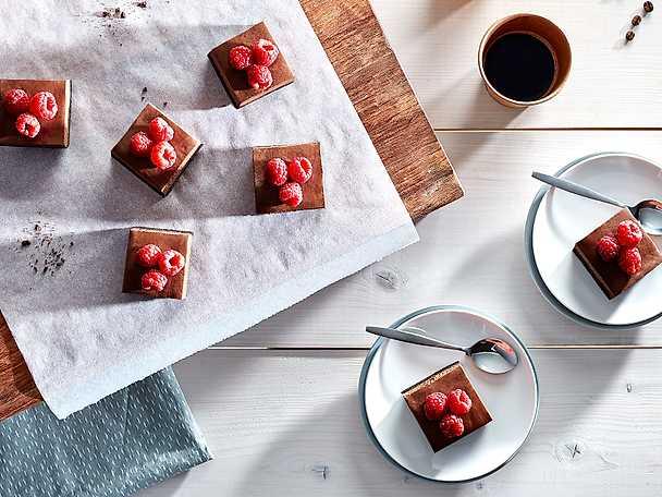 Philadelphia 5 Cheesecakerutor med hallon och choklad