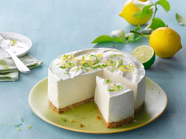 Philadelphia 6 Cheesecake med citron och lime