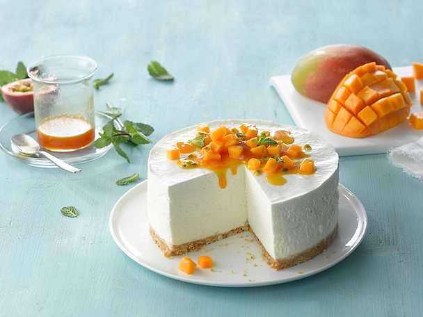 Philadelphia 9-Exotisk cheesecake med mango och kokos