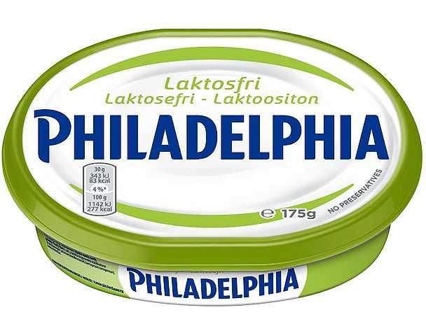 Philadelphia laktosfri vit