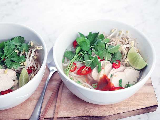 Pho - vietnamesisk soppa