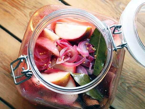 Picklade äpplen
