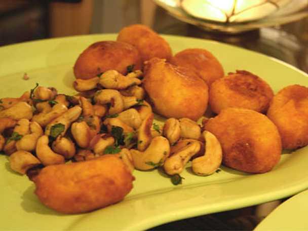 Pilgrimsmusslor masala från Goa