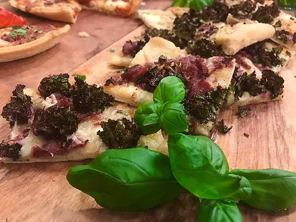 Pizza bianco borgo - Milano style