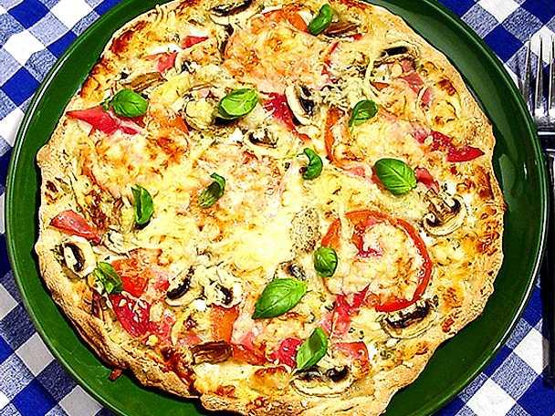 Pizza för kalorijägare