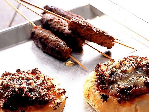 Pizza och kebab – köttfärs på två sätt