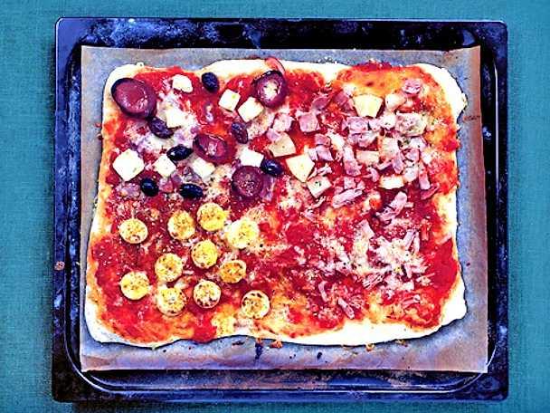 Pizza quattro personi