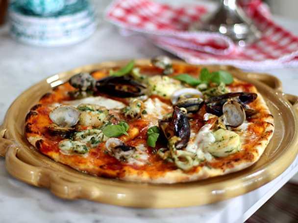 Pizzadeg med surdeg, grundrecept