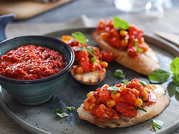 Plivit Trade bruschetta