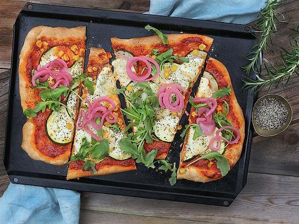 Podravka pizza med ajvar