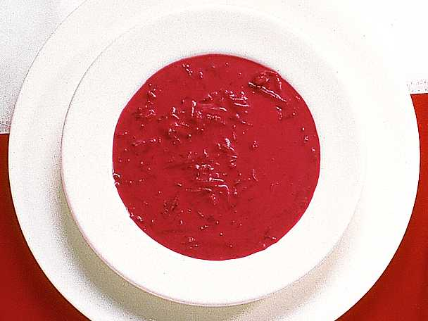 Polsk rödbetssoppa