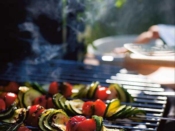 Pomodori e zucchine alla brace - augberginespett