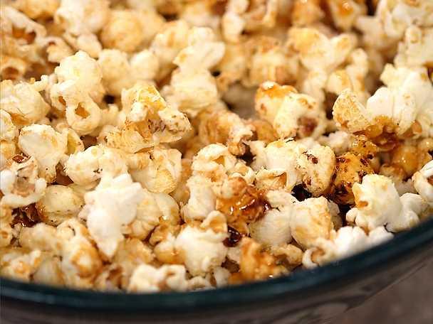 Popcorn med kokos och chili