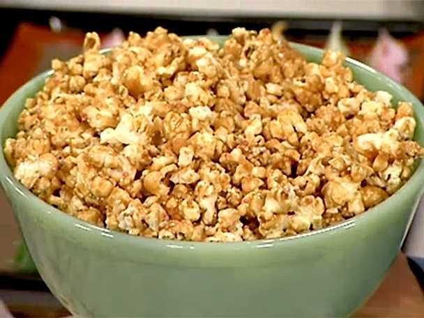 Popcorn med kolasmak