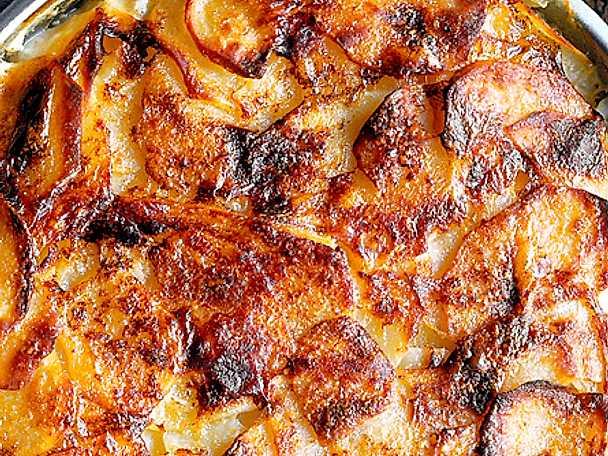 Potatisgratäng med getost